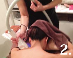 オアシス・さくらの美肌脱毛の流れ【2】